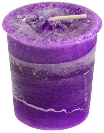 Crown Chakra Votive Candle