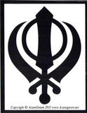 Khanda Bumper Sticker