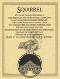 Squirrel Prayer Poster