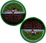 Tree Of Life Iron-on Patch 3""