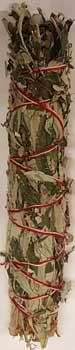 White Sage & Mugwort Smudge Stick 8""