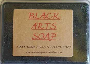 2.5oz Black Arts Soap