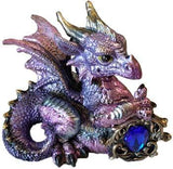 Pink-purple Dragon W- Stone 4""