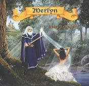 Cd: Merlyn:  Celtic Harp Music By Jerry Marchand