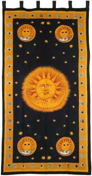 "Sun God Curtain 44"" X 88"""