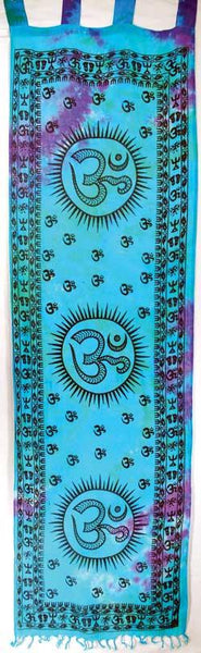 "Om Curtain Pair 22"" X 72"""