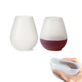 Silicone Collapsible Stemless Wine Whiskey Beer Glass
