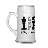 Greatest Farter Father Beer Stein