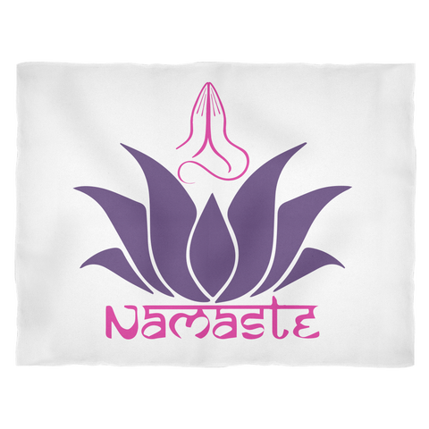 Namaste Fleece Blanket