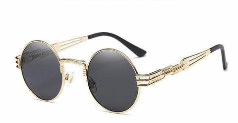 Steampunk Sunglasses Luxury Metal