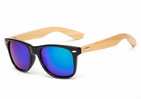 Bamboo Sunglasses green mercury