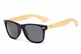 Bamboo Sunglasses Matte Black