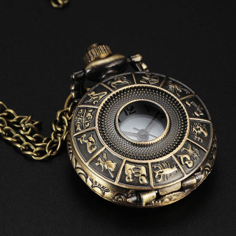 Pocket Watch Antique Retro Fob Steampunk
