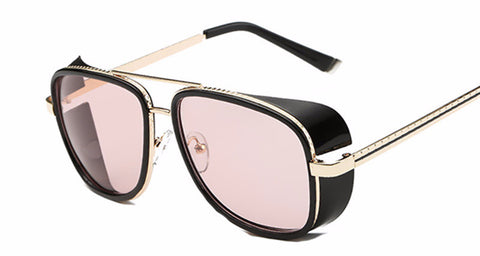 Steampunk Sunglasses Square Mirrored