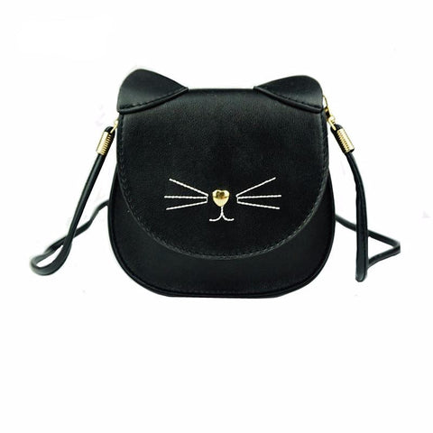 Cat Purse with Whiskers