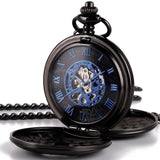 Pocket Watch Double Cover Roman Numerals
