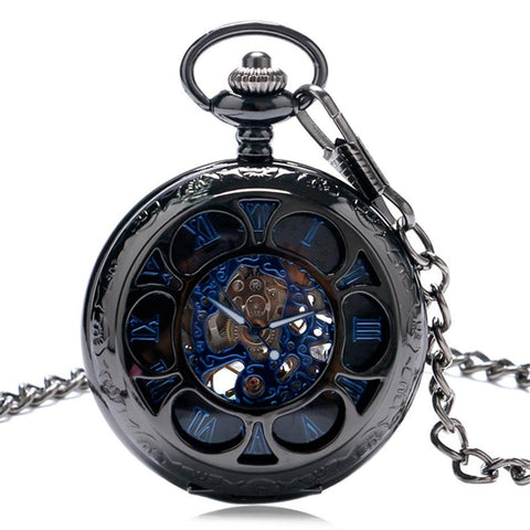 Pocket Watch Luxury Steampunk Mechanical