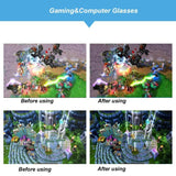 Gaming Glasses Anti Blue Rays and Anti Glare