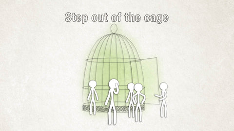 Step out of the Cage