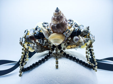 DARK ARIEL MERMAID CROWN