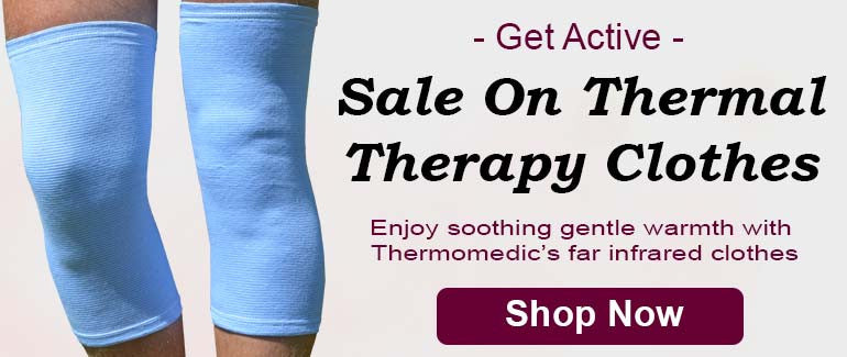 Knee braces and thermotherapy knee supports for chronic knee pain from Thermomedic