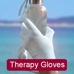 Far Infrared Therapy Gloves For Hand Pain, Arthritis, Carpal Tunnel Syndrome and Cold Fingers