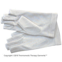 Far Infrared Half-Finger Therapy Gloves