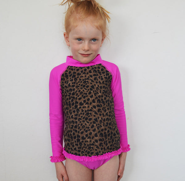 Little Miss Leopard set