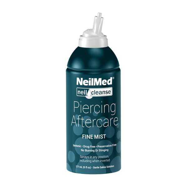 NEILMED PIERCING AFTERCARE WOUND SPRAY 177ML
