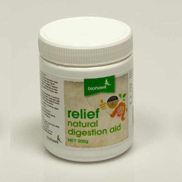 Relief - Natural Digestion Aid - Helps Reduce Food Intolerance Reactions (200g) - The Healthy Household
