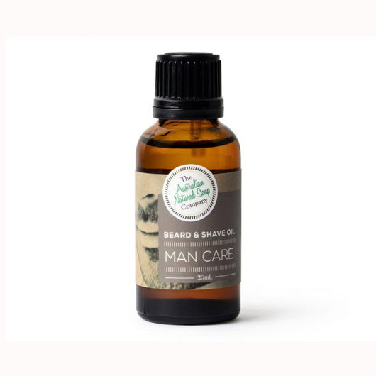 Man Care Beard & Shave Oil (Vegan) 25mL