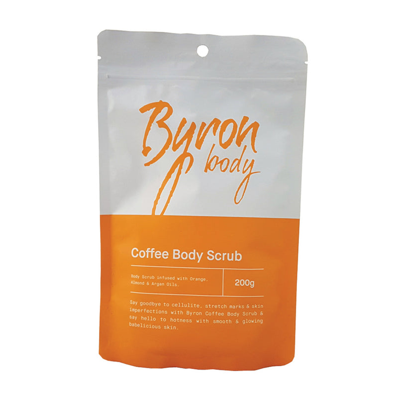 Byron Body Coffee Body Scrub 200g SKIN REFRESH & REJUVENATE