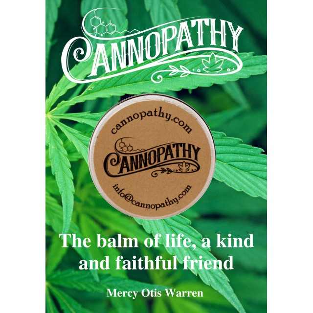 Cannopathy Canna-Balm Original Rescue Balm (80% Hemp Botannicals) 15g - The Healthy Household