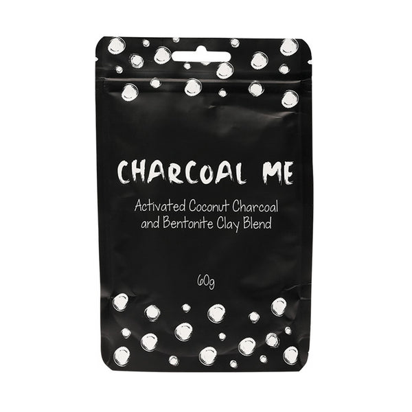 Charcoal Me - Activated Coconut Charcoal + Bentonite Clay Blend 60g - The Healthy Household