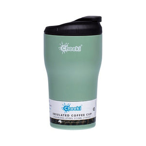 Insulated Reusable Coffee Cup 310mL (Pistachio or Topaz)