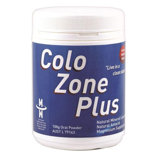 ColoZone Plus 100g - Relief of Occasional Constipation + Antacid - The Healthy Household