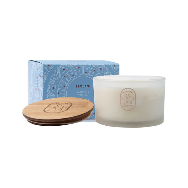 Distillery Fragrance House Soy Candle 450g Soulful (Jasmine & Vanilla) 50 Hours Burn Time *PRE-ORDER, BACK SOON*
