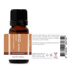 Clove Bud Pure Essential Oil 10mL ANTIBACTERIAL ANTIVIRAL