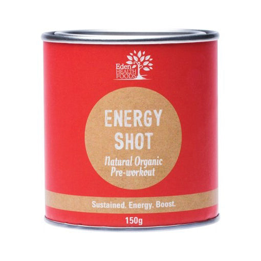 Eden Health Foods Energy Shot  Pre-Workout 150g - Antioxidant Boost Blend! - The Healthy Household