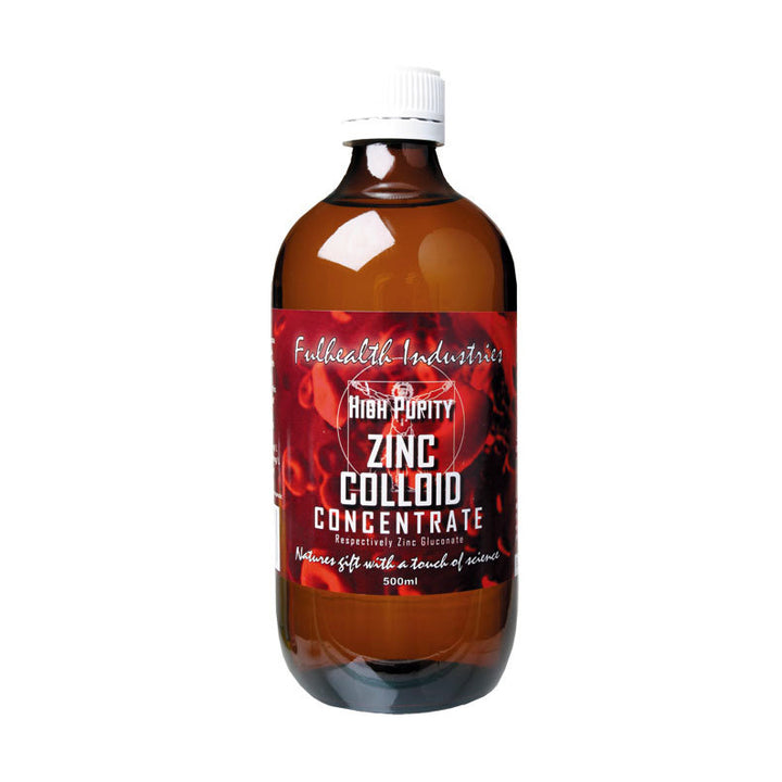 Fulhealth Zinc Colloid Concentrate 500ml