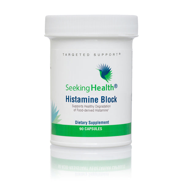 Histamine Block with Diamine Oxidase (DAO) 90 Capsules  *PRE-ORDER, BACK APPROX EARLY-MID AUGUST*