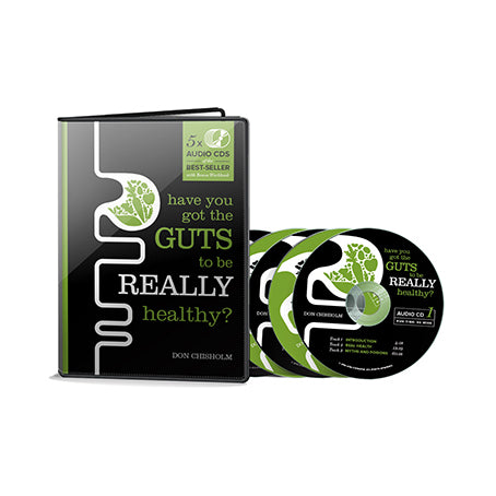 AudioBook - Have You Got The Guts To Be Really Healthy? By Don Chisholm - The Healthy Household