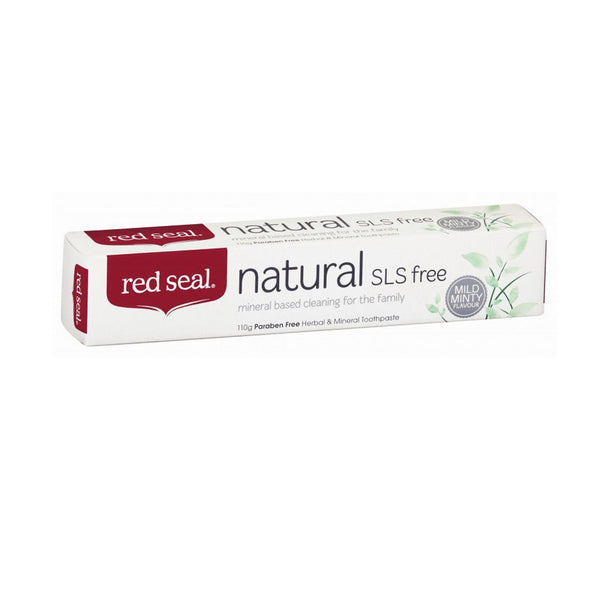 Red Seal Natural/Mineral Toothpaste SLS FREE 110g - The Healthy Household