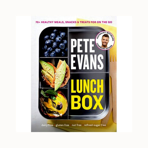 Book - Lunch Box by Pete Evans (70+ Simple Recipes for School & Work!) - The Healthy Household