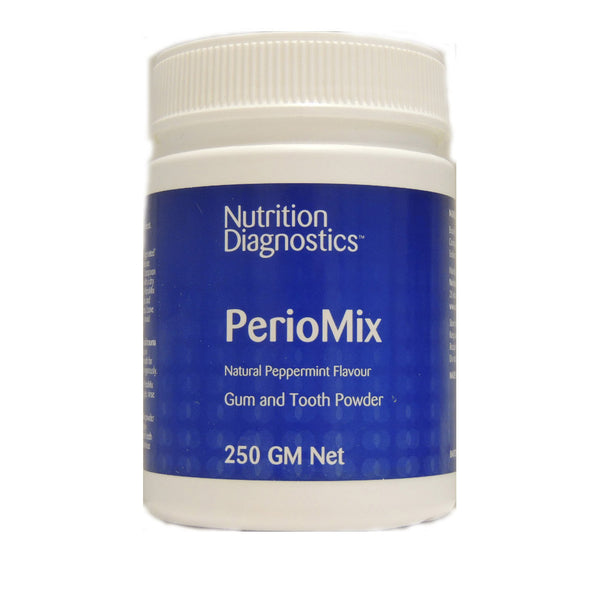 Nutrition Diagnostics PerioMix - Dental Bacterial Defense (250g Powder) - The Healthy Household