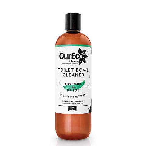 OurEco Clean Toilet Bowl Cleaner Eucalyptus + Tea Tree (500mL) - The Healthy Household