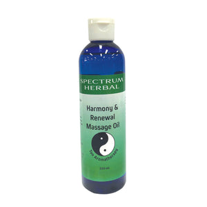 Aromatherapy Massage Oil - Harmony & Renewal 250mL