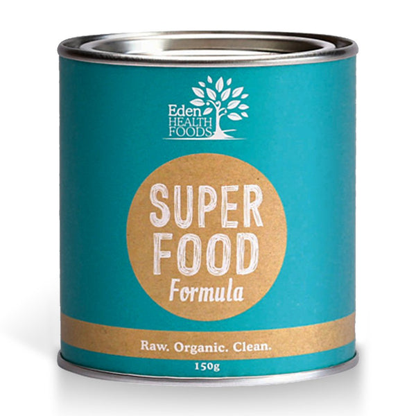 Eden Health Foods Superfood Supergreens Formula 150g RAW ORGANIC CLEANSING - The Healthy Household