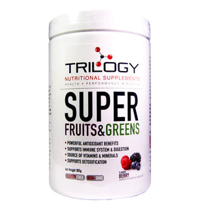 Trilogy Nutrition Super Fruits & Greens Superfood Formula - Berry (305g) - The Healthy Household