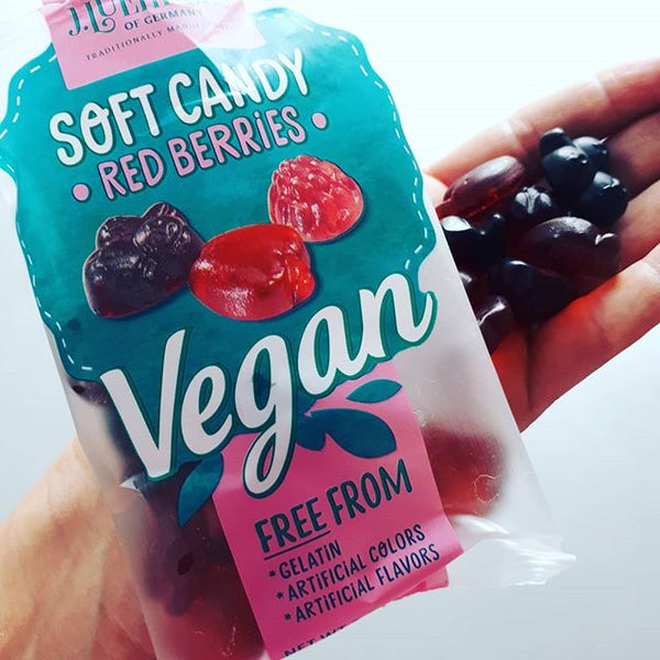J.Luehders - Soft Vegan Candy - Red Berries 80g CHEEKY VEGAN TREAT! :) - The Healthy Household